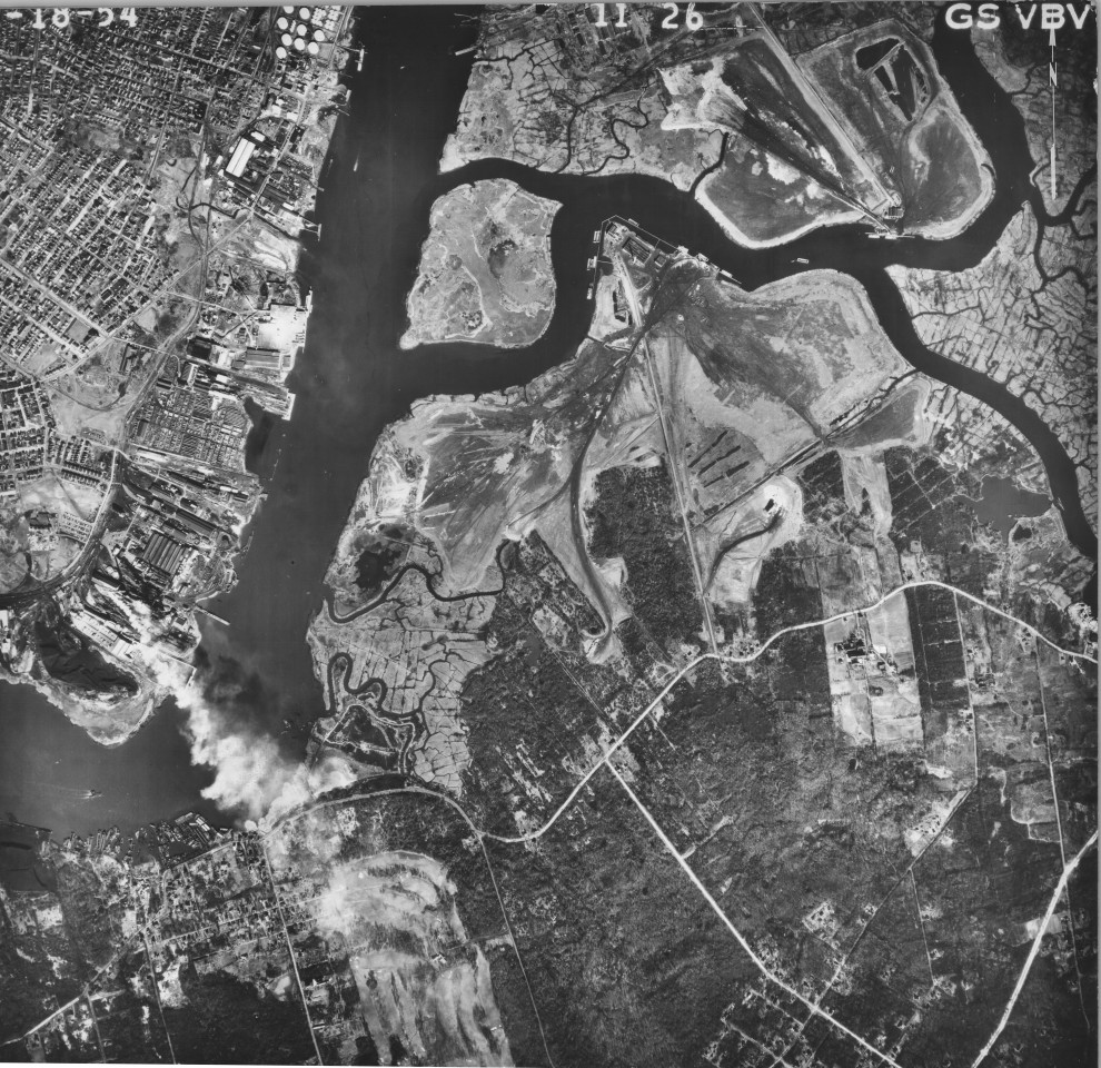 Fresh Kills Landfill 1954