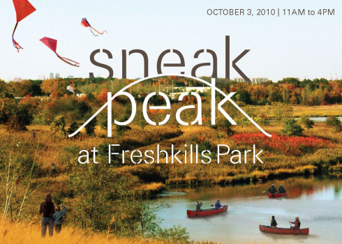 Sneak Peak Postcard