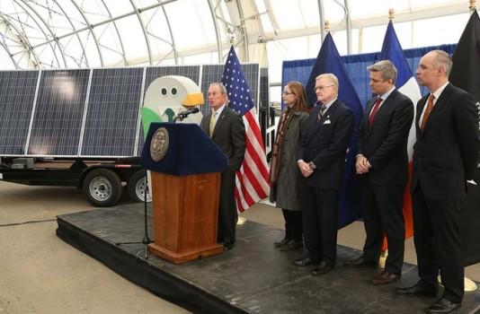 Solar Array Plan Announced