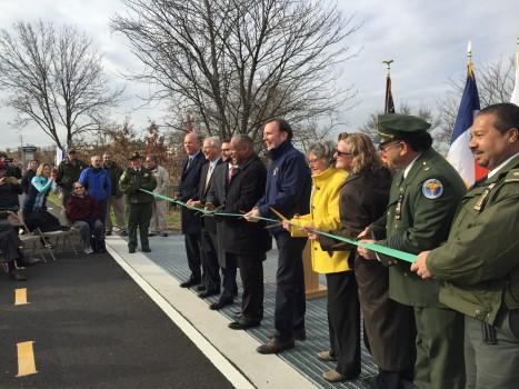 New Springville Greenway Ribbon Cutting