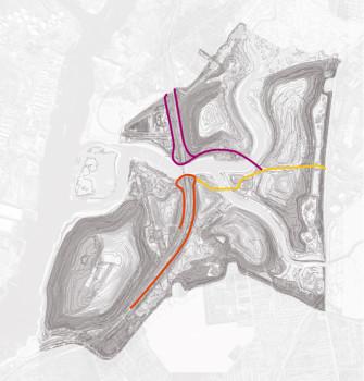 east park roads